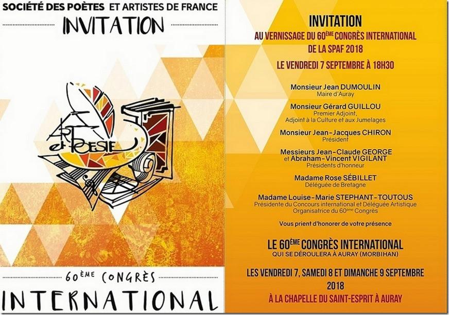 Rémi Coudrain au 60è Congrès International de la SPAF 2018