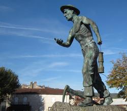 Mémorial mineur Aubin