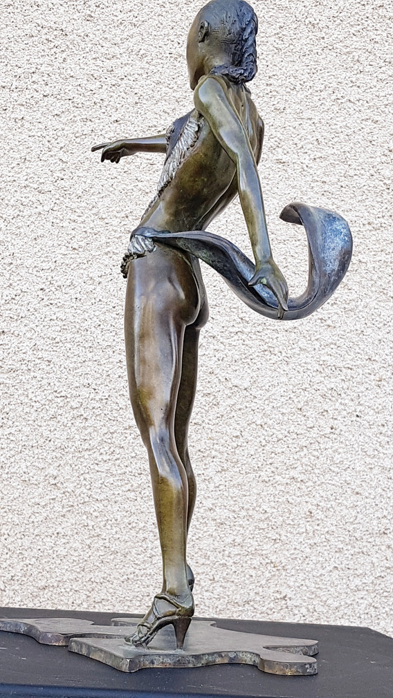 Sculpture danseuse bronze