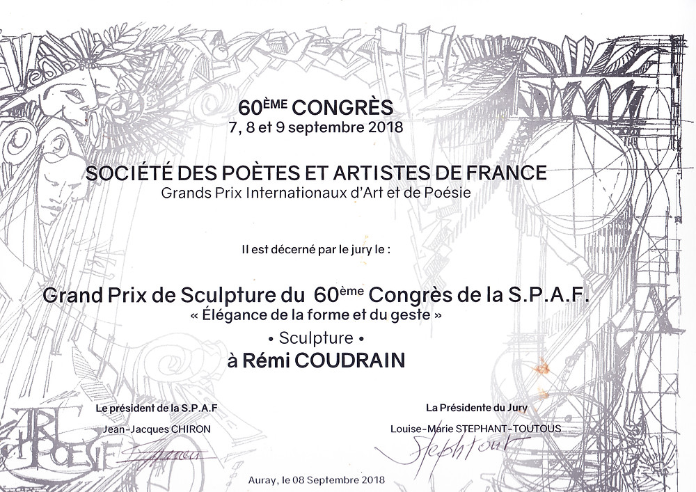 Grand Prix de Sculpture à Auray