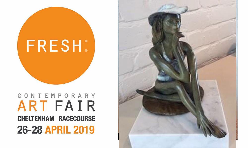 Marie/Bronze/Rémi Coudrain exhibiting at the Fresh Art Fair in Cheltenham