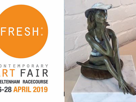 Marie is exhibiting at the Fresh Art Fair...