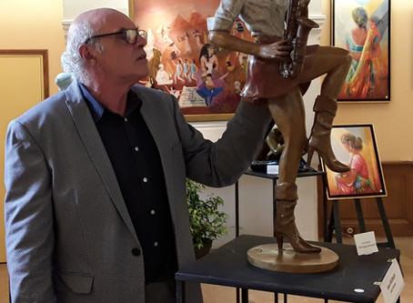 Sculpture bronze du corps humain