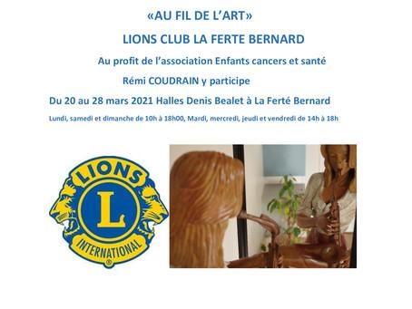 Au fil de l'art avec le LIONS CLUB