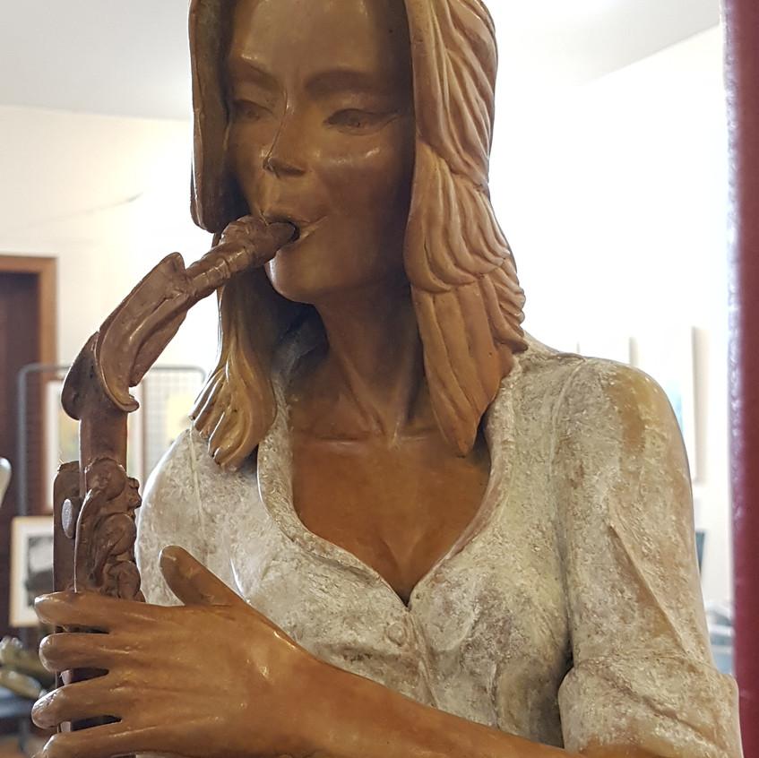 Saxophoniste/musicien/bronze