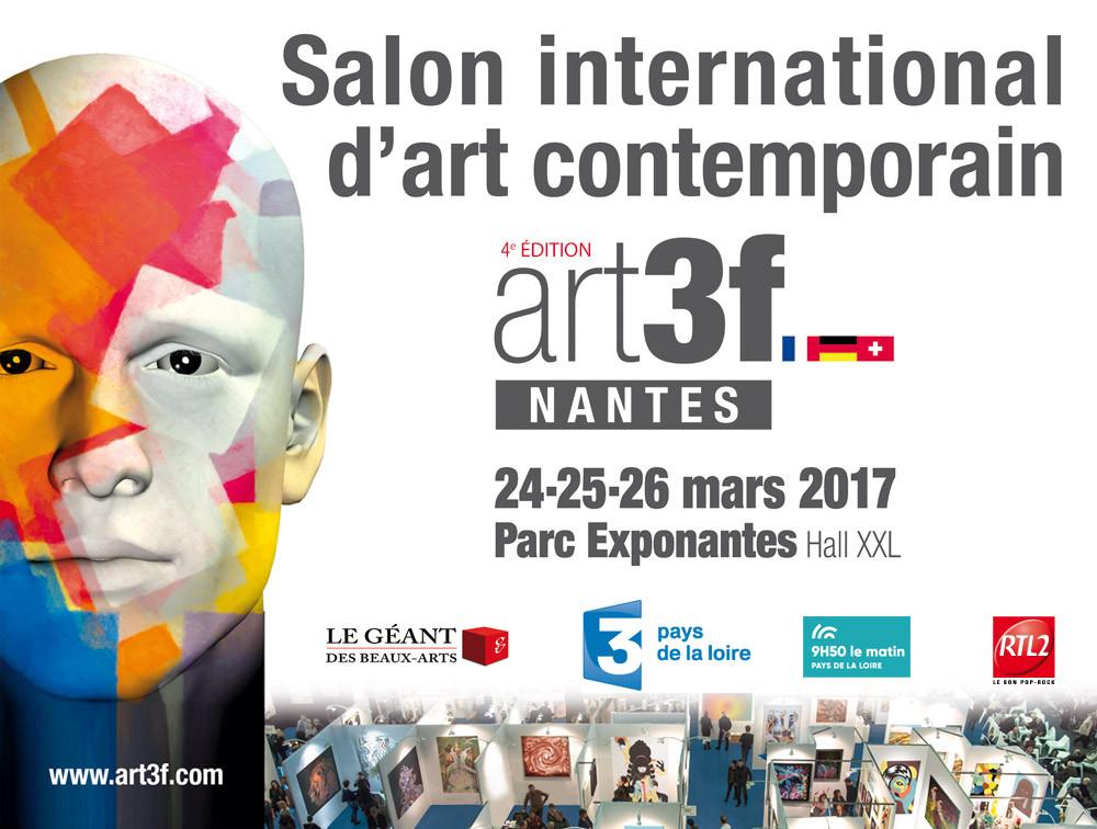 Je serai heureux de vous voir sur mon stand à Art3f Nantes . Invitation sur demande, page contact du site.