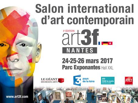 Mes bronzes bientôt à Art3f Nantes