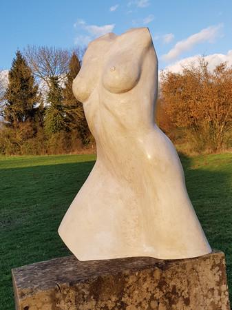 Buste femme nu