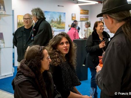 Vernissage à galerie Chercheur d'Artistes :
