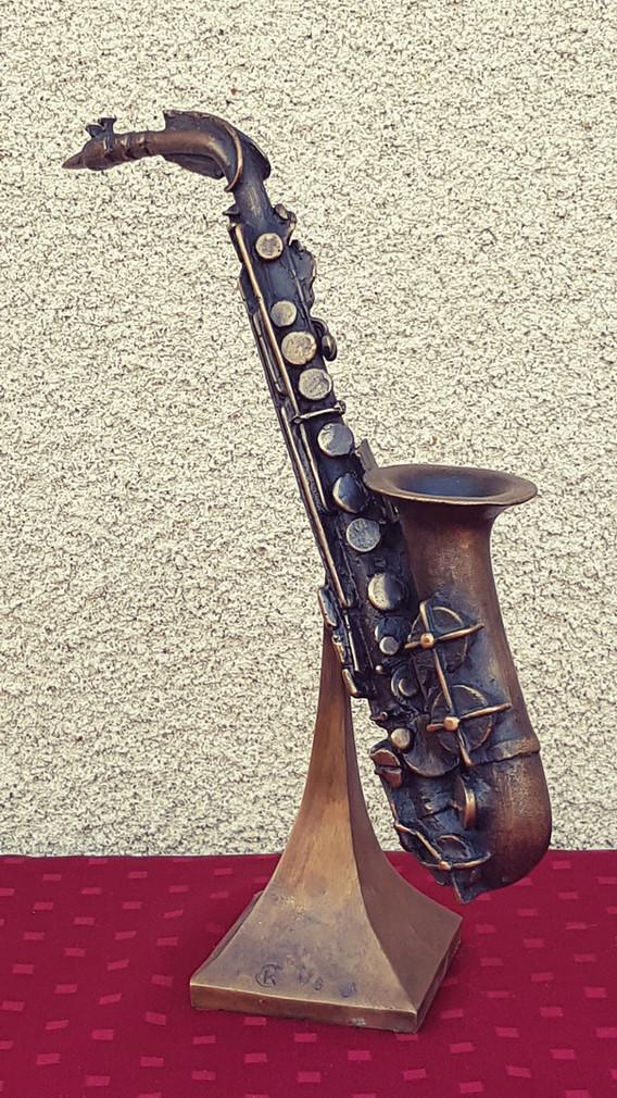 Sculpture musique jazz
