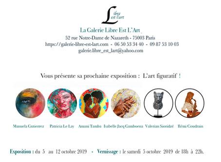 Exposition parisienne Coudrain-Sculpteur