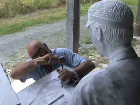 Le Télégraphiste en marbre