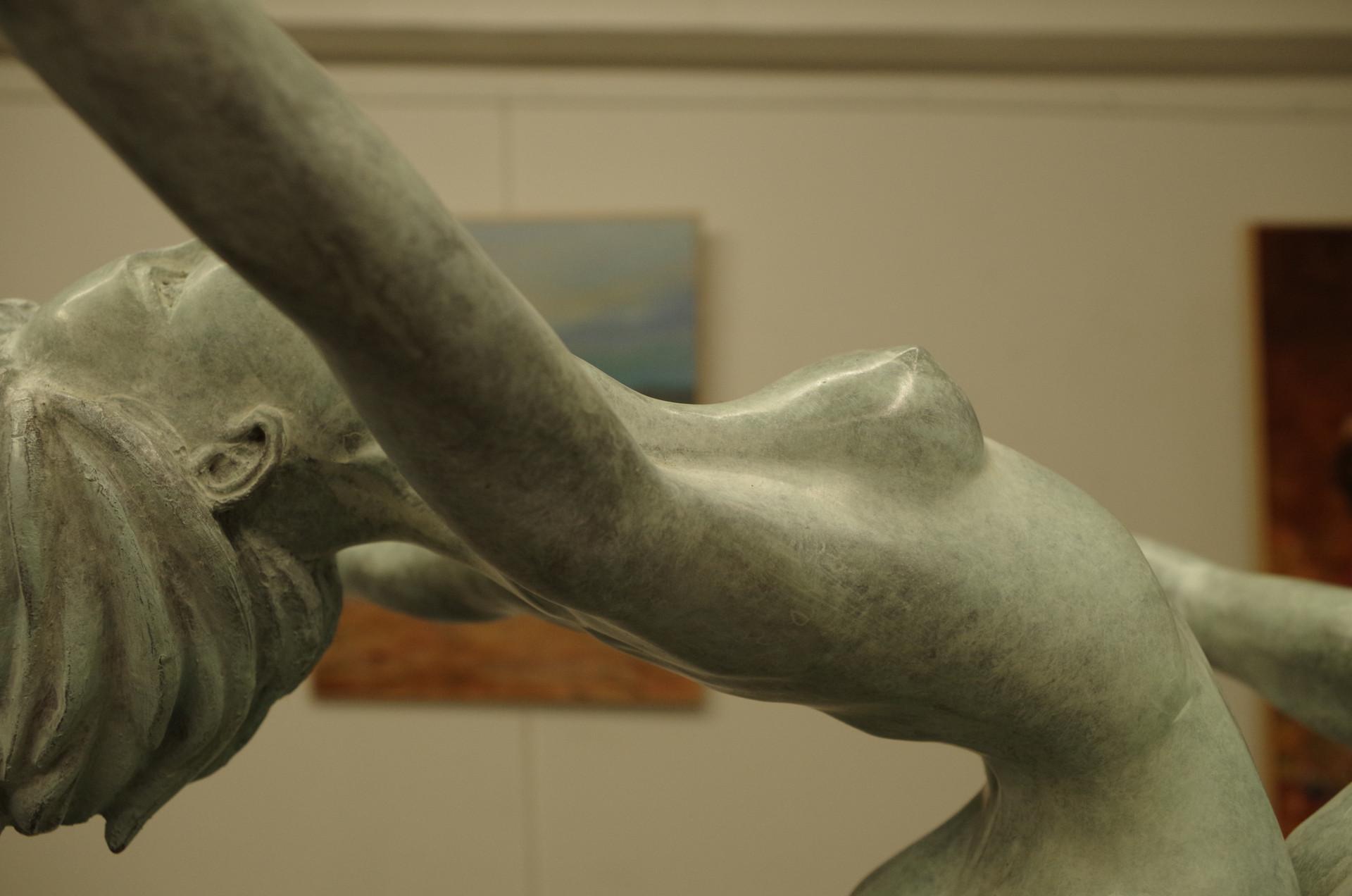 Dos et bras en sculpture