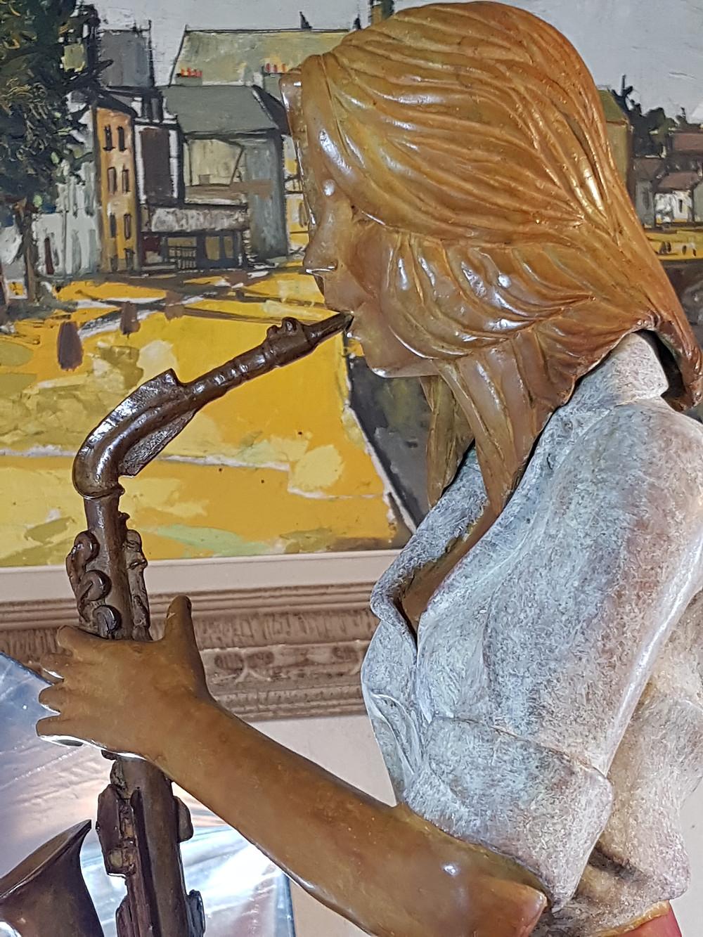 Une Saxophoniste dans votre salon !