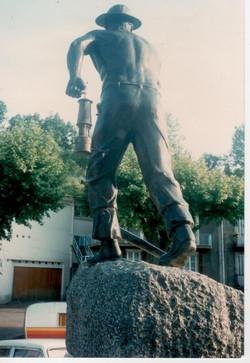 Inauguration monument Le Mineur