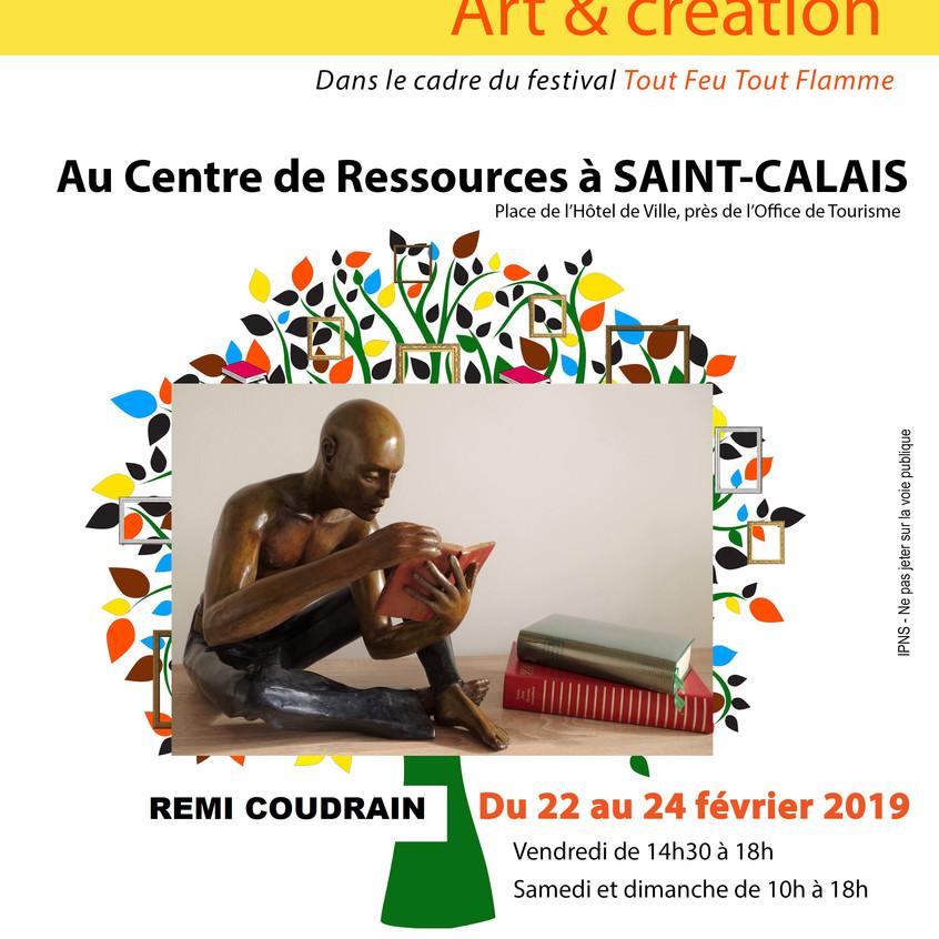 Exposition /2019/coudrain- sculpteur