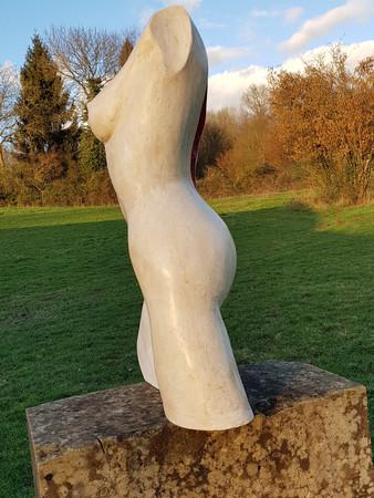 Sculpture buste nu