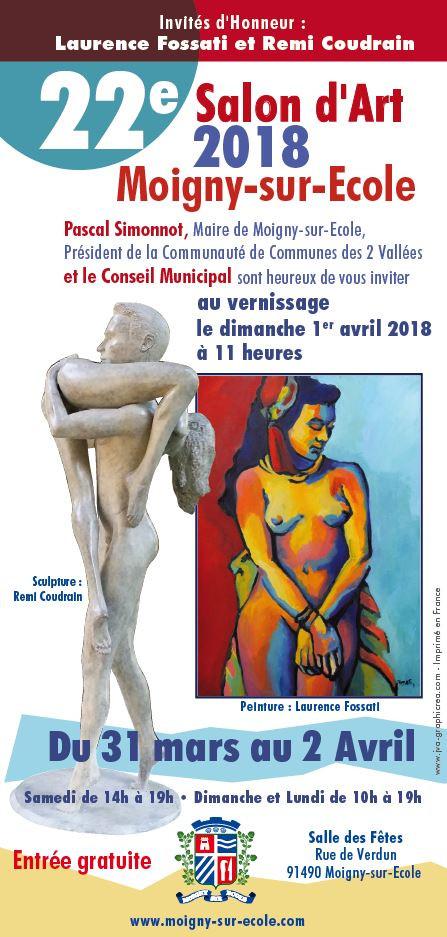 Rémi Coudrain est invité d'honneur à Moigny-Sur-Ecole