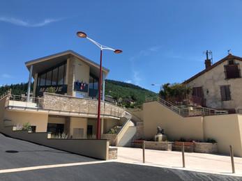 La nouvelle mairie de Saint Sernin Sur Rance