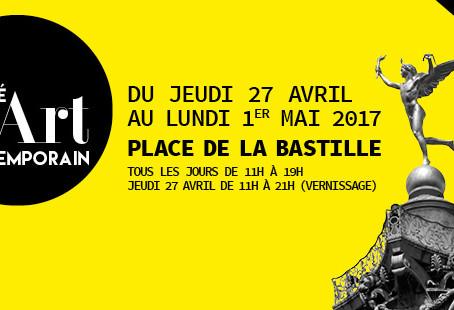 Prévoyez votre week-end du 1er mai : Venez rêver avec mes bronzes à GMAC Bastille, sous le chapiteau