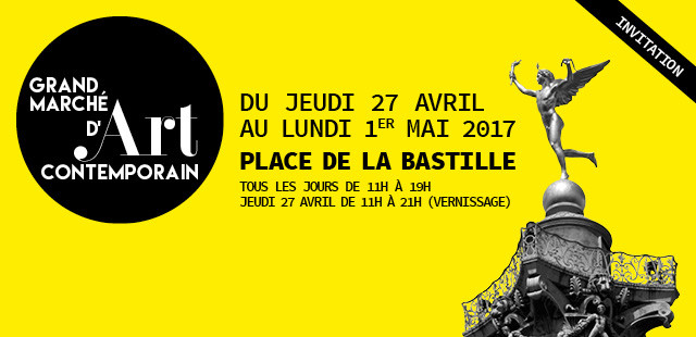COUDRAIN-SCULPTEUR vous invite à GMAC Bastille, stand 29B sous le chapiteau