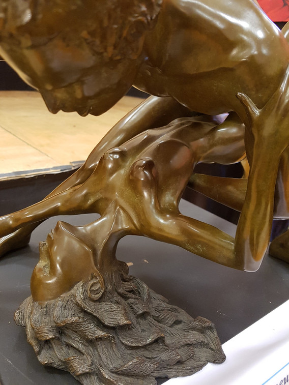 Sculpture figurative danse