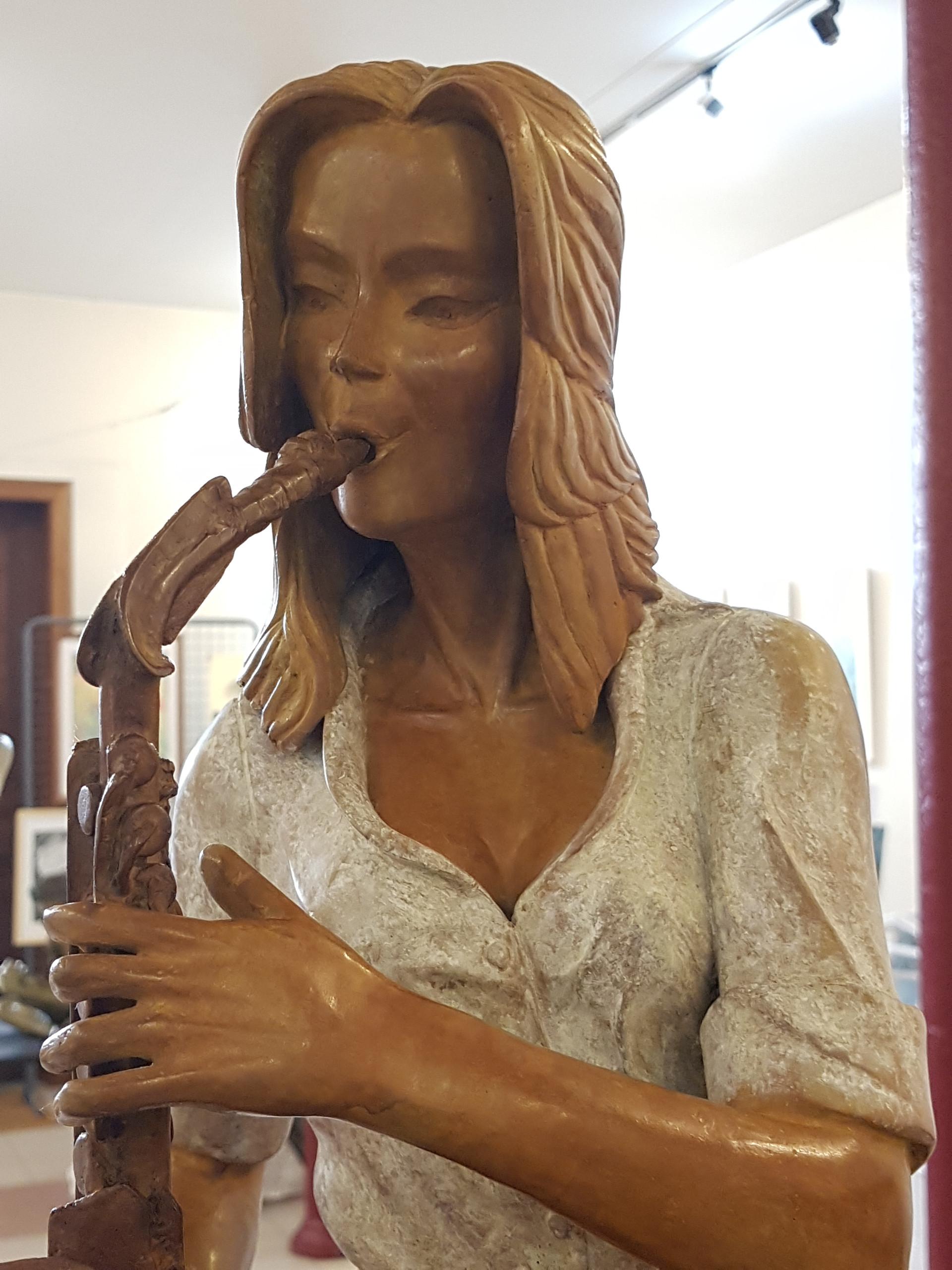 Le buste de la Saxophoniste