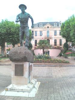 Le Mineur bronze Aubin