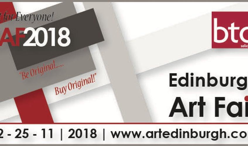 art fair edimbourg 2018 - affiche