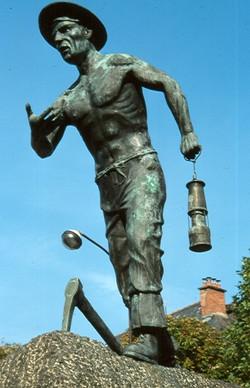 Le Mineur bronze mémorial