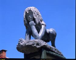 Sculpture l'Enfant sauvage