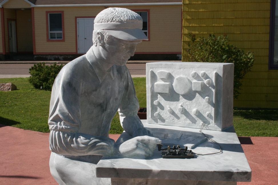 La sculpture à Miquelon-Langlade