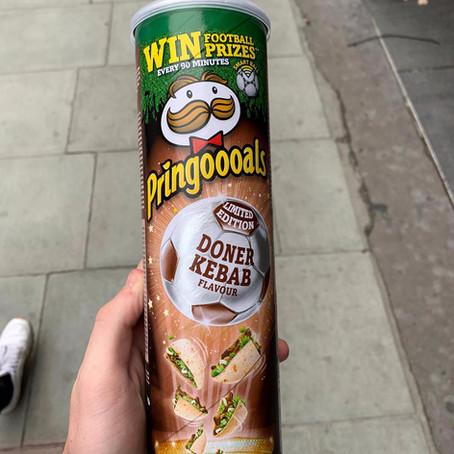Pringles what have you done? - Doner kebab Pringles