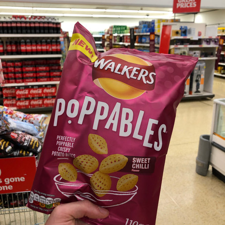 Do the holes in these crisps leave any gaps in quality? - Walkers Poppables sweet chilli