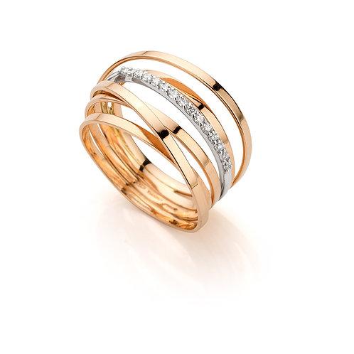 ring in rose goud