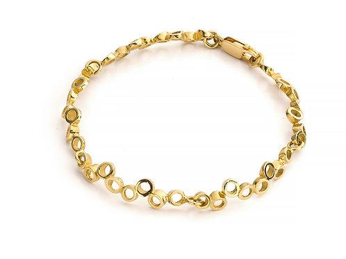 Armband in geel goud