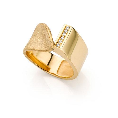 ring in geel goud