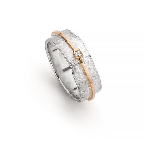 Ring zilver/goud