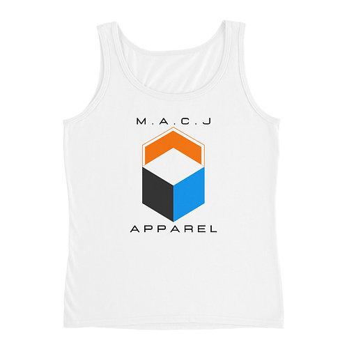 M.A.C.J Apparel Ladies' Tank (White)