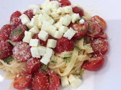 Pomodorini e mozzarella