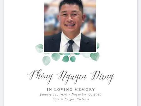 Phong Dang Memorial Scholarship