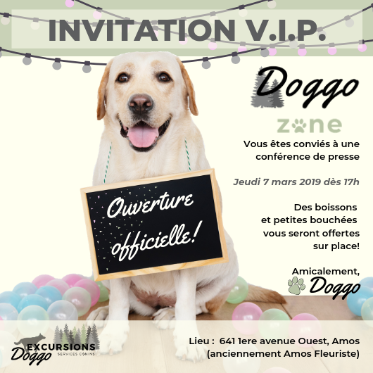 Invitation Doggo