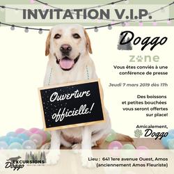 Invitation Doggo