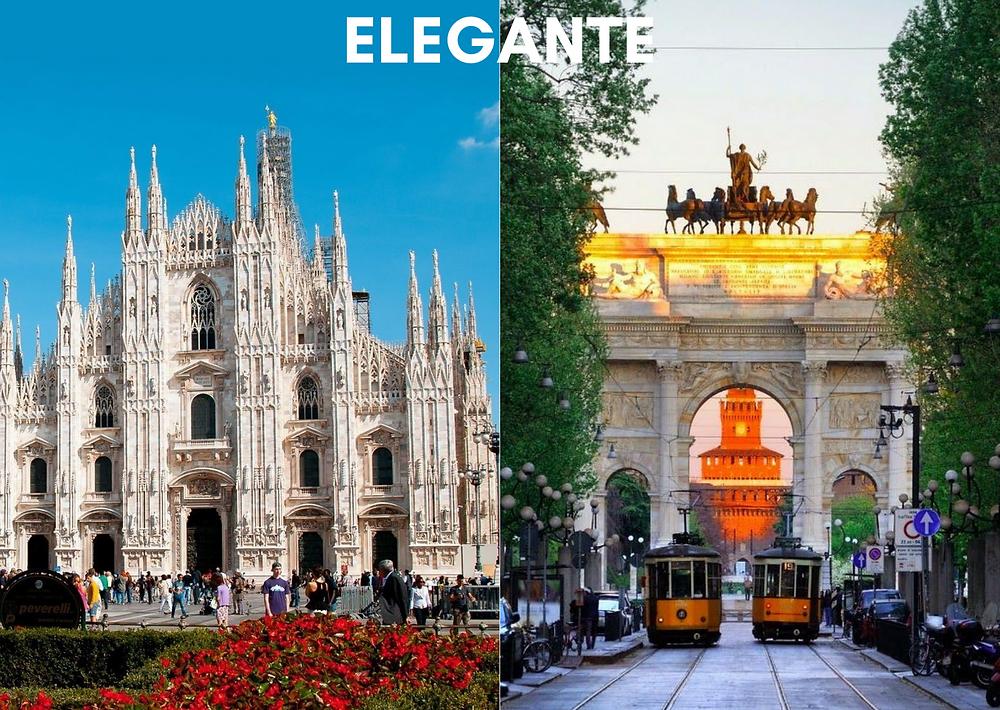 as cidades de cada estilo - elegante