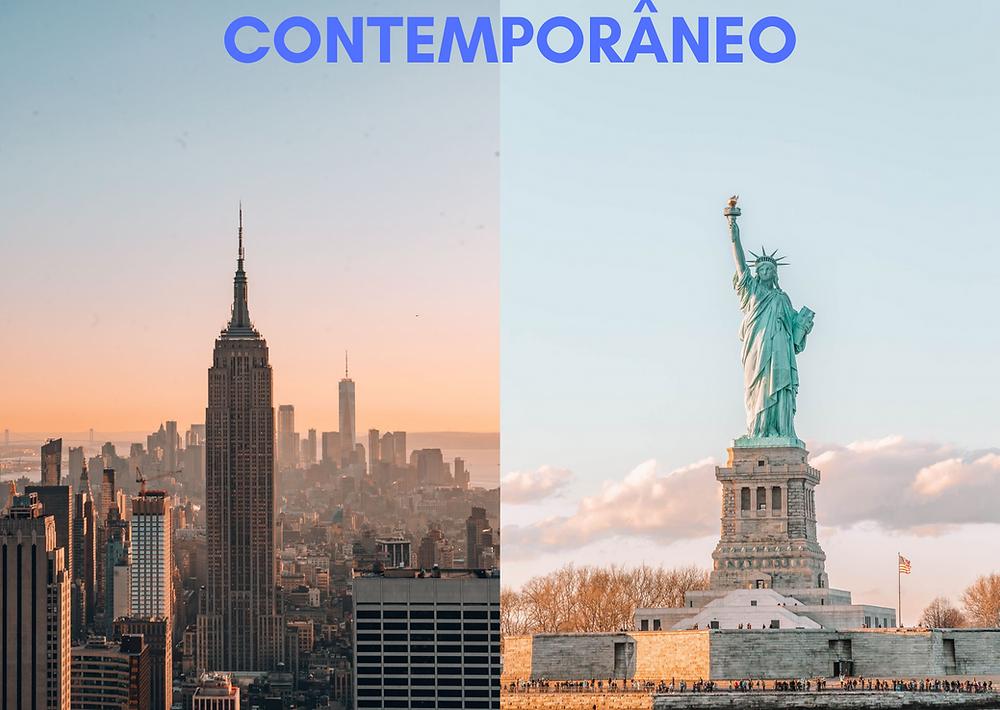 as cidades de cada estilo - contemporâneo