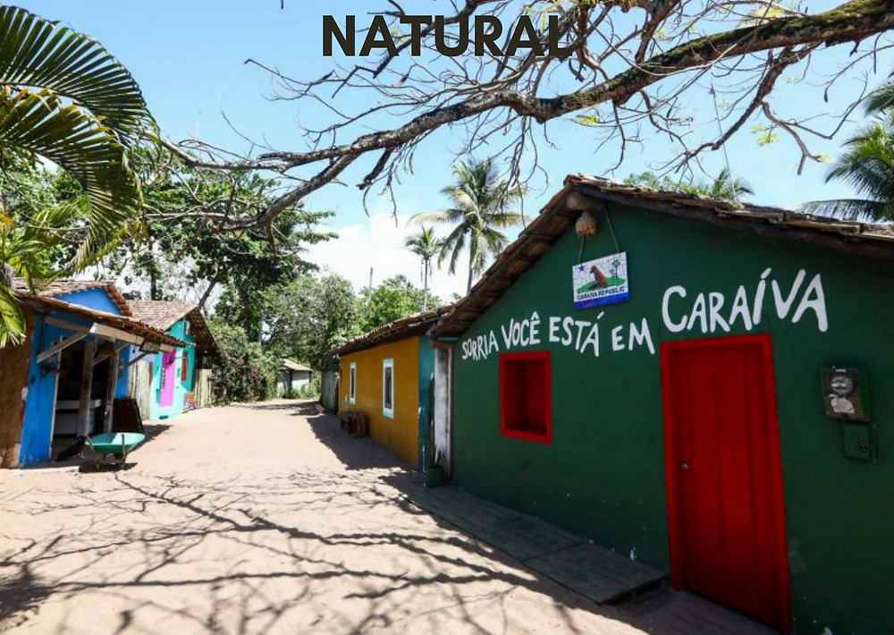 as cidades de cada estilo - natural