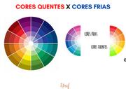 O que são cores frias e cores quentes?