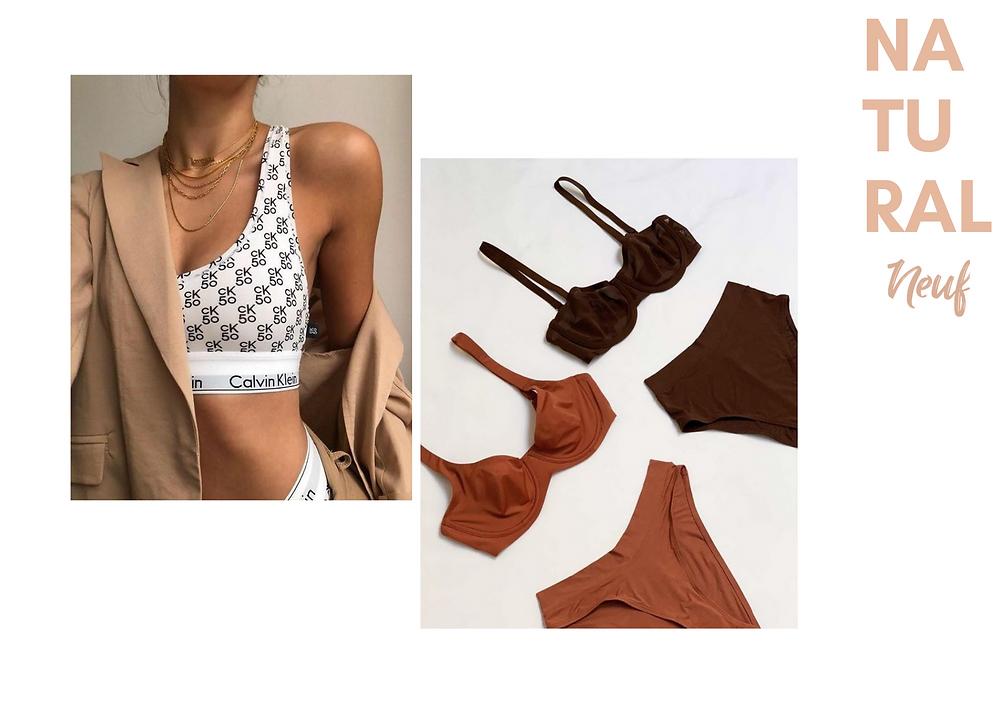 lingerie de cada estilo
