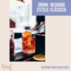 drink estilo clássico