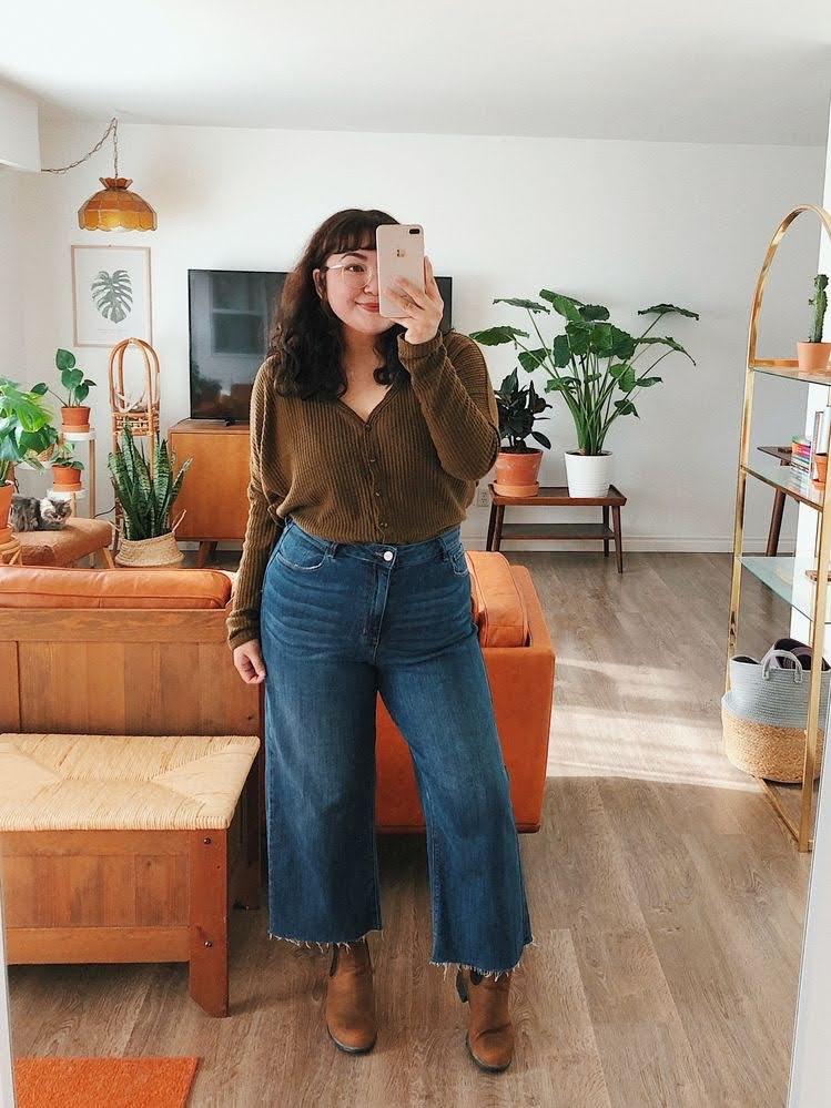 jeans com originalidade